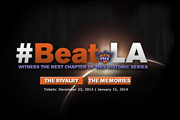 The Phoenix Suns are taking their rivalry with the Los Angeles Lakers to the Internet with its new website beat.la