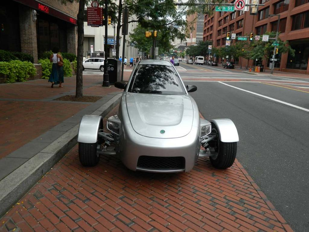 Elio Motors Dropped By To Show Off Its New Concept Car Which Can Go 84 Mpg