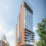 Hotel tower looking to energize downtown street scape