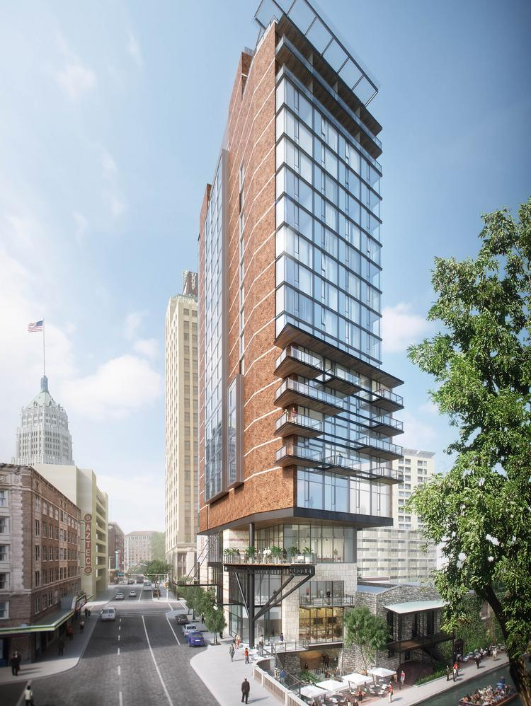 downtown canopy by hilton project could spur more. Black Bedroom Furniture Sets. Home Design Ideas