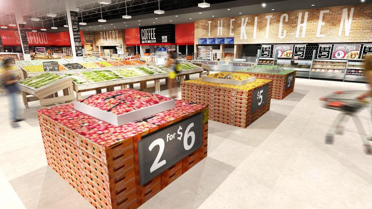 Remodeled next generation WinnDixie in South Tampa hits just