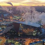 U.S. Bank Stadium's design is generating opinions
