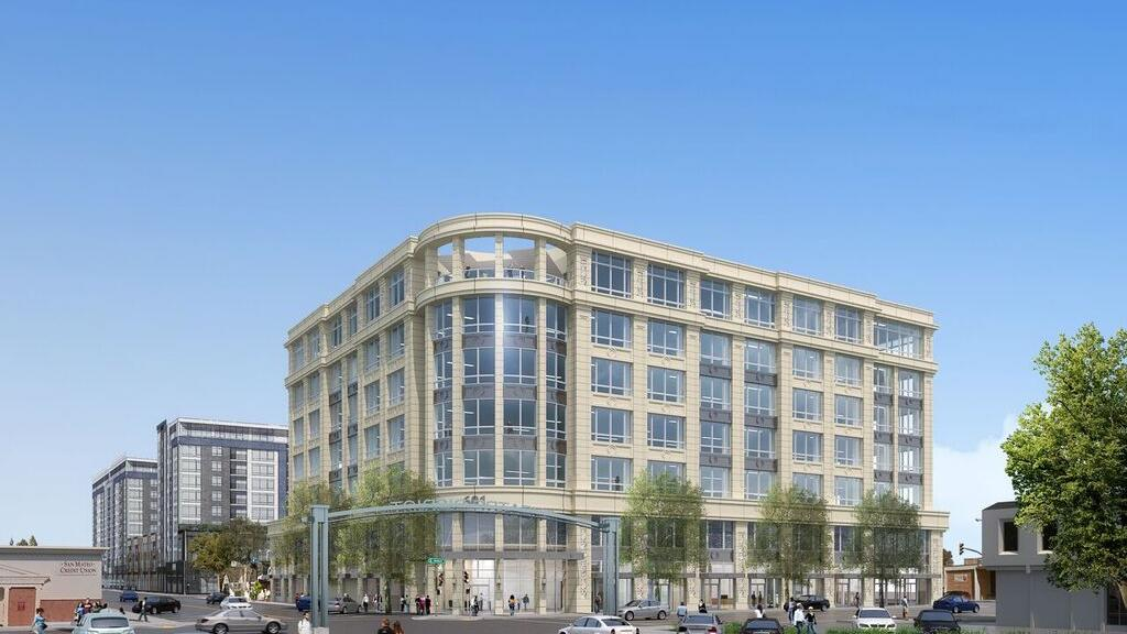 Image result for Redwood City office project jacks up rents before it even breaks ground