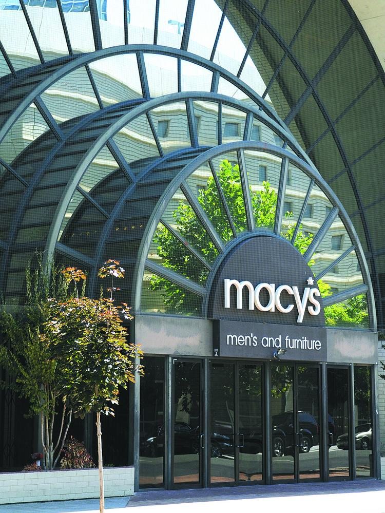 Demolition of the former Macy's men's store and other parts of Downtown Plaza will begin Friday as the long-anticipated construction of a new arena begins.