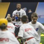 On the scene at the Super Bowl: The NFL Experience (PHOTOS)