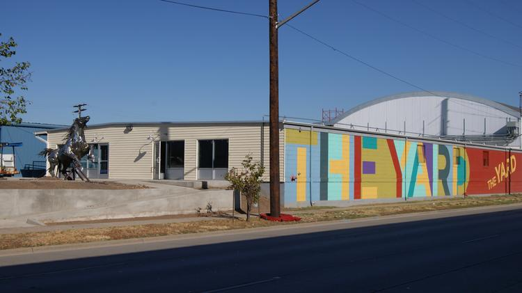 The Yard on Santa Fe is a new development south of the Santa Fe Arts District.