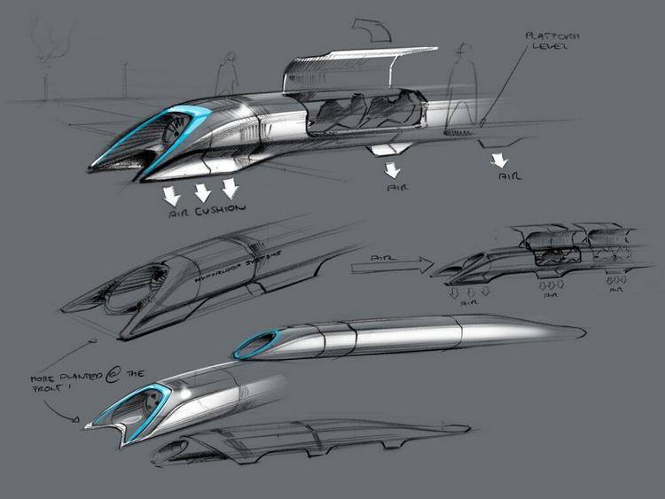 Elon Musk has finally revealed technical details of his Hyperloop transport system concept.
