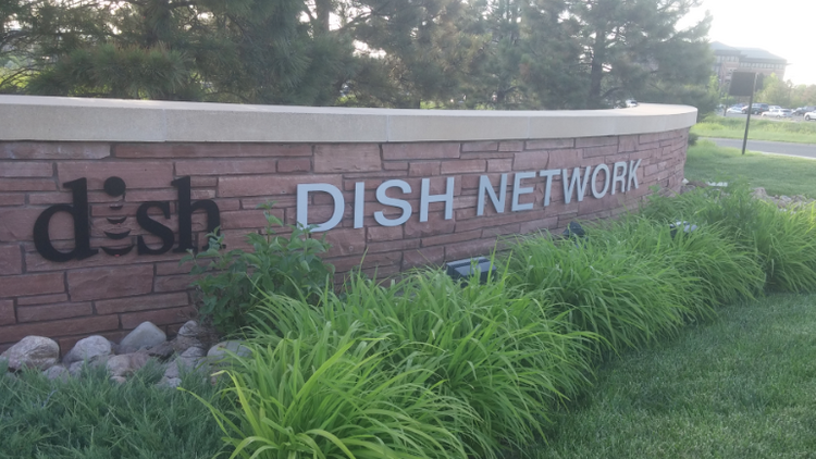 Dish Network Corp.'s headquarters campus in the Meridian office Park ...