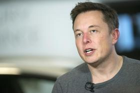 Elon Musk, chief executive officer of Tesla Motors Inc., speaks during a Bloomberg West Television interview at the company's headquarters in Palo Alto, California, U.S., on Tuesday, April 2, 2013.