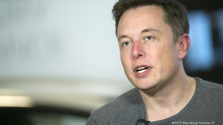 Elon Musk, chief executive officer of Tesla Motors.