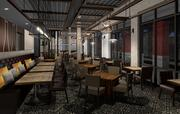 A rendering of the Élevage Restaurant at the Epicurean Hotel in Tampa.