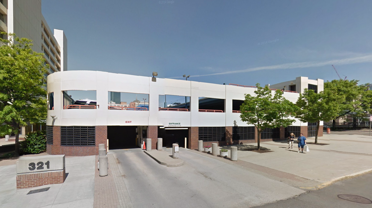 Nordblom proposing to build office atop south end parking for Build office in garage