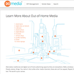 DoMedia's online billboard space reservation system goes way beyond the bus stop