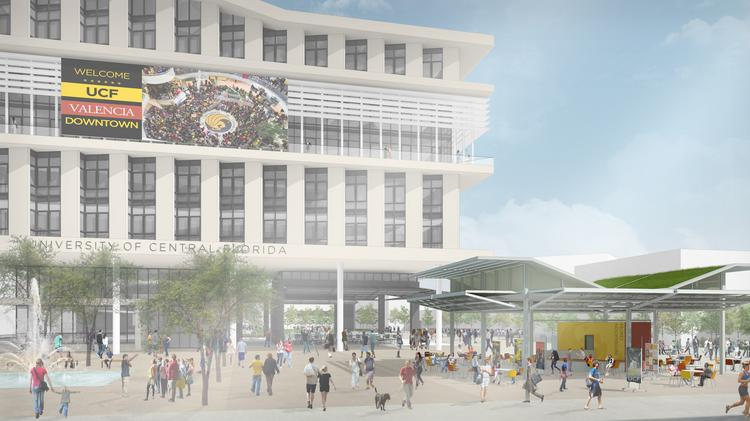 UCF Downtown has raised the final portion of funding for its $60 million academic building.