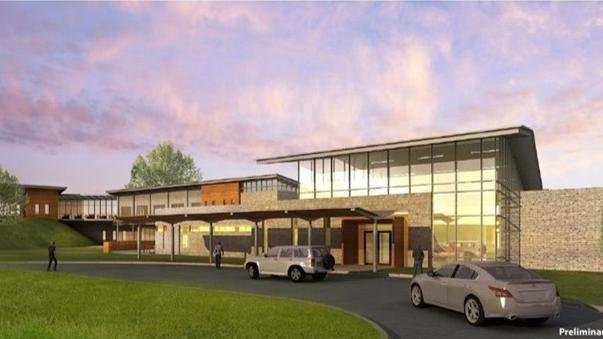A Rendering Of The 37 Million Texas Health Residential Treatment Center To Be Built In Mansfield
