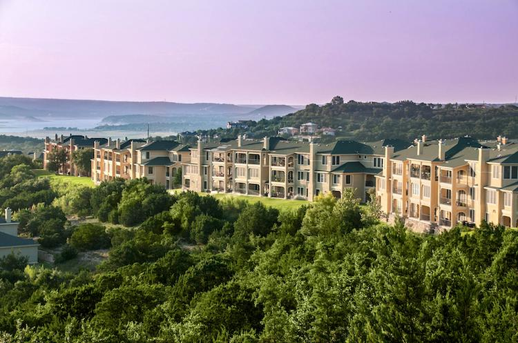 The Monterone at Steiner Ranch apartments have been rebranded as Meritage at Steiner Ranch by the new owners, Steadfast Income REIT.