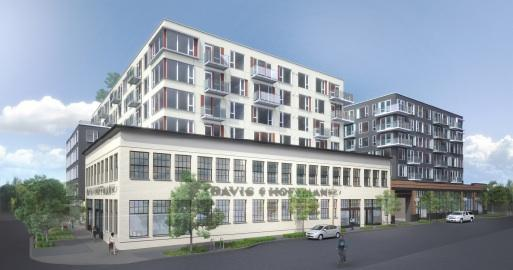 The original design of Alliance Residential's apartment project prompted city of Seattle officials to look into limiting the size of large projects in the Capitol Hill area. Alliance changed the design of the project at 1414 10th Ave. to win the city's OK, and construction is starting.