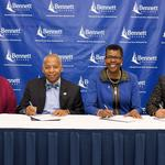Agreement offers path to WSSU health sciences for Bennett College grads
