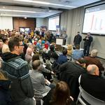 Wichita's first 1 Million Cups: Standing room only