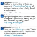 FirstEnergy takes on Dynegy in unusual Twitter battle