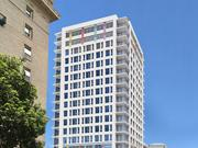 A rendering of a 126-unit, 16-story tower planned at 250 14th St. in Oakland.