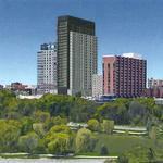 Updated: 26-story apartment tower planned on Goll House site on Prospect