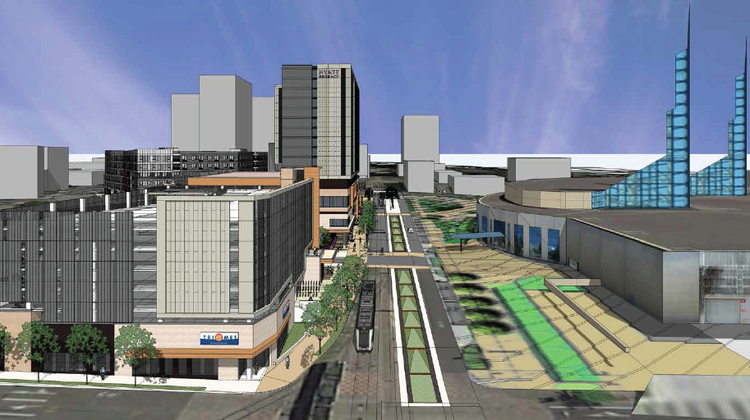Pdc Is Planning To Have Mortenson Development Design And Build A 25 9 Million Parking Garage Across