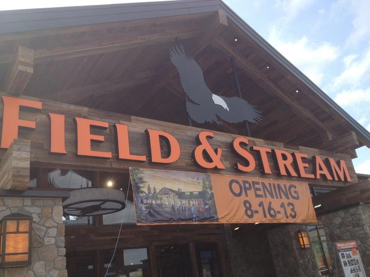 The new Field & Stream store is scheduled to open in Cranberry Township.