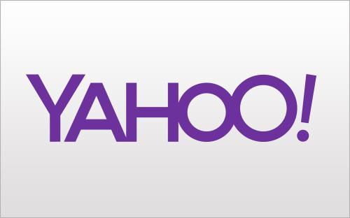 Yahoo's trial logo, day 1. Click on the image to see other logos the tech company is trying out.