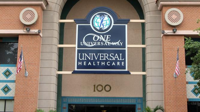 Universal Health Care's offices in downtown St. Petersburg.