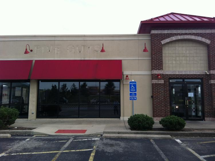 A Five Guys restaurant in West Chester has closed. Another restaurant purchased the real estate where it was located.