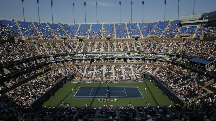 Hundreds of thousands of fans will again stream to the Billie Jean King National Tennis Center in Flushing for the U.S. Open, seen here in a quarterfinal match in 2007. Despite recent dominance of foreign players, the tennis tournament remains as strong draw for American audiences.