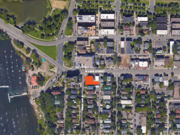 CPM's development plan calls for about 20,000 square feet of office space on floors two through five, a small retail space on the first floor, and a single penthouse residential unit on the fifth floor.