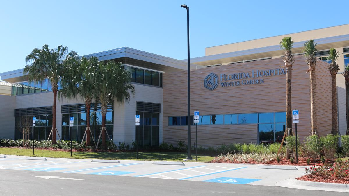 Florida hospital hca plan orlando area expansions orlando business journal for Garden grove hospital and medical center