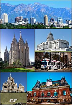 Salt Lake City's scenery will include Wells Fargo's annual meeting this year.