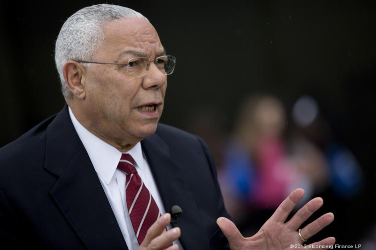Colin Powell, former U.S. secretary of state, in a file photo from June.