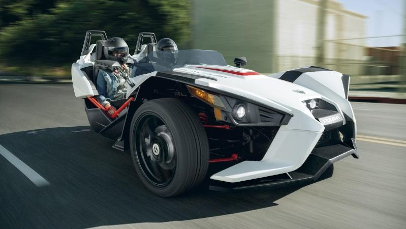 2016 Polaris Slingshot Lineup Includes New Colors And