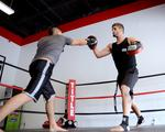 In the ring with Title Boxing Club owner <strong>Homaira</strong> <strong>Mirzai</strong> (Video)