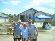Burr & Forman LLP Corporate Citizen category  10-word philosophy on community service: Serving others is being a good steward of your success.  Click here to read their profile   Caption: Burr & Forman volunteers to build local homes for Habitat for Humanity.
