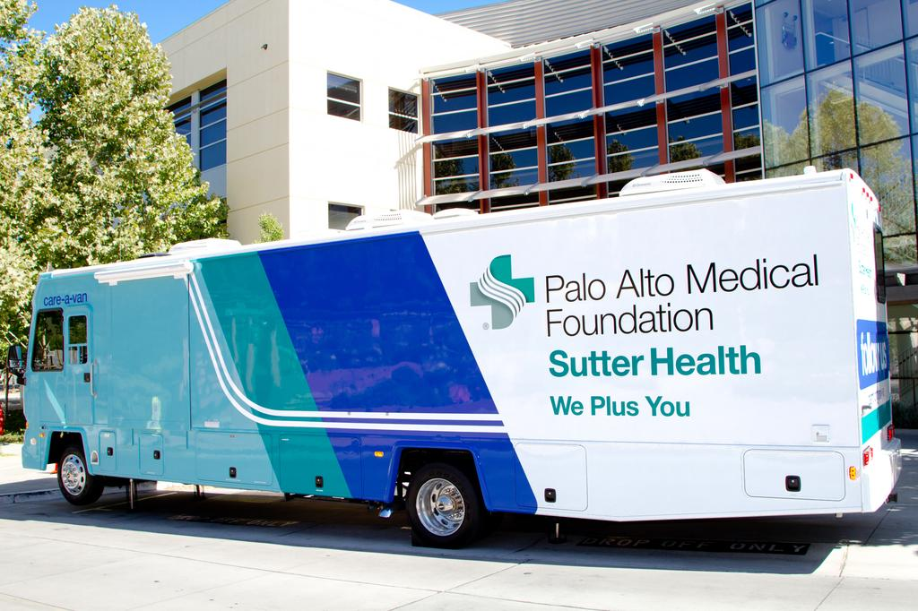 PAMF brings medical clinic in a van to Silicon Valley
