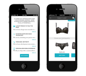 App startup using iPhone pics to fit you for a bra snags 5 6M San Francisco Business Times