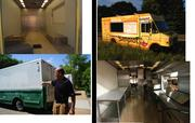 Chameleon Concessions owner Mark Palm transformed this used truck into a shiny mobile eatery.
