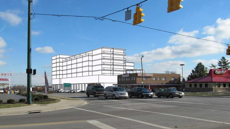Arcadia Development of Ohio wants to put 42 apartments and 38 condominiums atop 13,900 square feet of street-level retail and restaurant space and 19,400 square feet of second-floor offices along Lane Avenue in Upper Arlington.