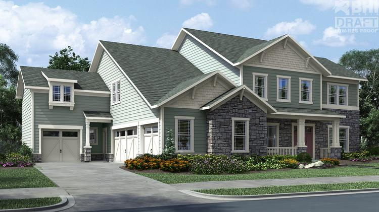 Crescent communities creates homebuilding division called for Craftsman home builders charlotte nc