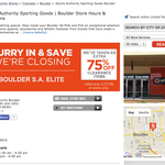 Sports Authority begins closing stores in widespread shutdown