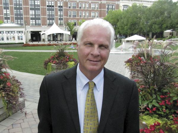 Solid Growth: Steve Willshaw, general manager of The Greene, said there is a wait list for residential units.