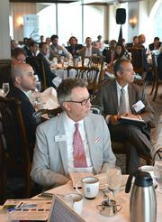 The Critical Conversations panel discussion was held at the Tower Club in Fort Lauderdale.