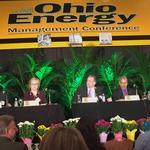 AEP, FirstEnergy and Dynegy execs battle on stage over Ohio's proposed income guarantees