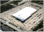 Here's an aerial view of the new HID Global facility at 611 Center Ridge Drive near I-35 and Parmer Lane.