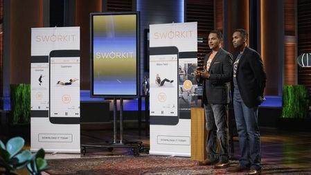 Image result for sworkit shark tank